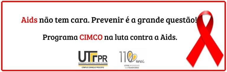 Banner prevenção AIDS