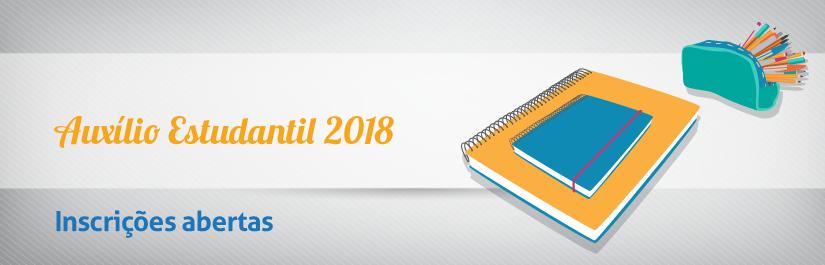 Processo de Seleção do Auxílio Estudantil torna público que estão abertas para o ano letivo de 2018, destinadas aos estudantes regularmente matriculados na UTFPR, abrangendo os treze câmpus.