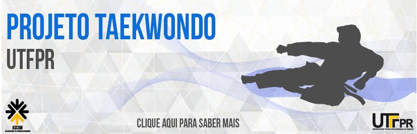 Banner Projeto Taekwondo