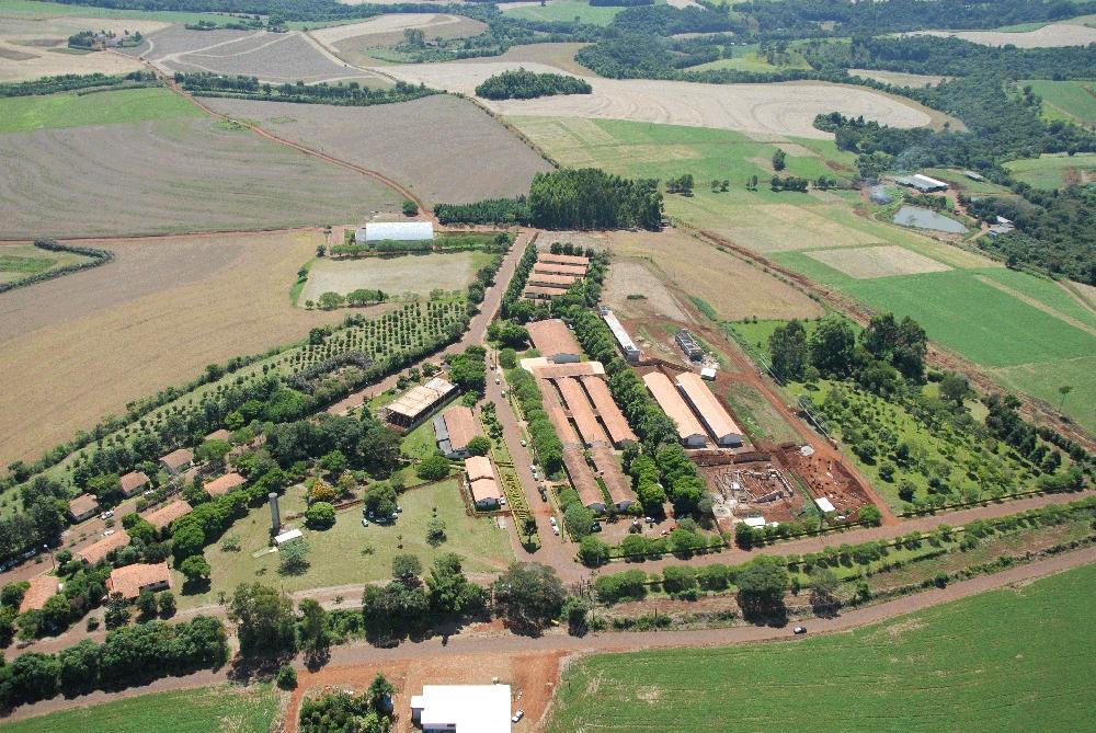 Foto aérea do Câmpus Dois Vizinhos