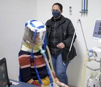 Câmpus Guarapuava desenvolve balão hermético de respiração não invasiva
