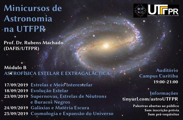 Minicurso de Astronomia Na UTFPR (2019/2)