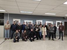 Alunos do curso de Tecnologia em Sistemas de Telecomunicações, da UTFPR Curitiba, visitam o TRE-PR