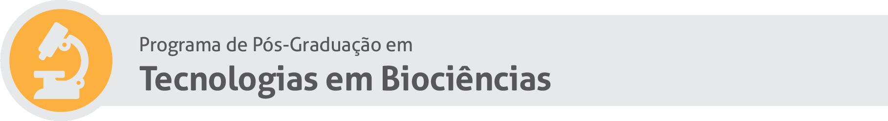 Tecnologias em Biociências