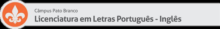 Licenciatura em Letras Português - Inglês