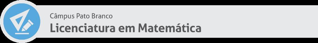 Licenciatura em Matemática PB