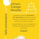 23º Aniversário do câmpus Campo Mourão da UTFPR