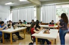 Sala de aula no Câmpus Pato Branco