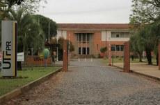 Entrada principal do Câmpus Ponta Grossa, unidade que sediará as pesquisas fomentadas pela ONU