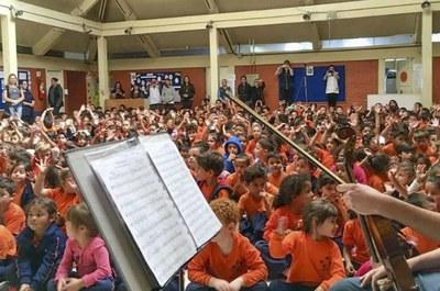 Concertos são realizados duas vezes ao mês