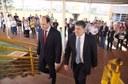Ministro da Educação, Rossieli Soares, e o reitor Luiz Alberto Pilatti (Foto: Ascom-MEC)