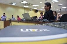 Sessão do Conselho Universitário da UTFPR (Foto: Decom)