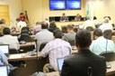 Conselho Universitário reunido no último mês de dezembro (Foto: Decom)