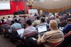 Conselho Universitário da UTFPR em sessão do último dia 5 (Foto: Decom)
