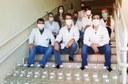 Equipe reúne doação de álcool em gel em Toledo | Foto: Ascom-TD