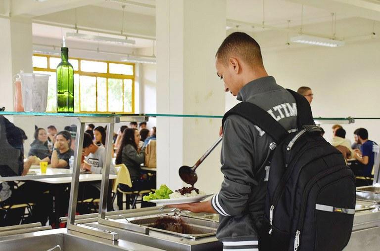 Restaurante Universitário do Câmpus Ponta Grossa (Foto: Decom)