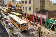 A pesquisa monitorou as concentrações de poluentes em um cânion urbano localizado na rua Sergipe entre as ruas Minas Gerais e Mato Grosso, no centro de Londrina