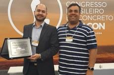 Artigo foi escolhido como o melhor da Macrorregional Sul em Congresso (Foto: Acervo Pessoal)