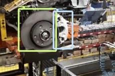 Utilização da técnica para verificar se a montagem foi realizada com as peças corretas