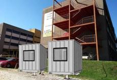 Duas câmaras climáticas estão sendo construídas na sede Ecoville do Câmpus Curitiba (foto com perspectiva)