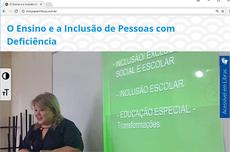 O portal O Ensino e a Inclusão de Pessoas com Deficiência traz materiais voltados para o aprendizado de matemática adaptados para alunos com deficiência