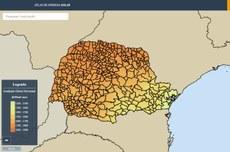 Atlas apresenta potencial solar e fotovoltaico dos 399 municípios do Paraná