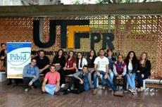 Alunos e professores do Pibid de 2017 do Câmpus Toledo