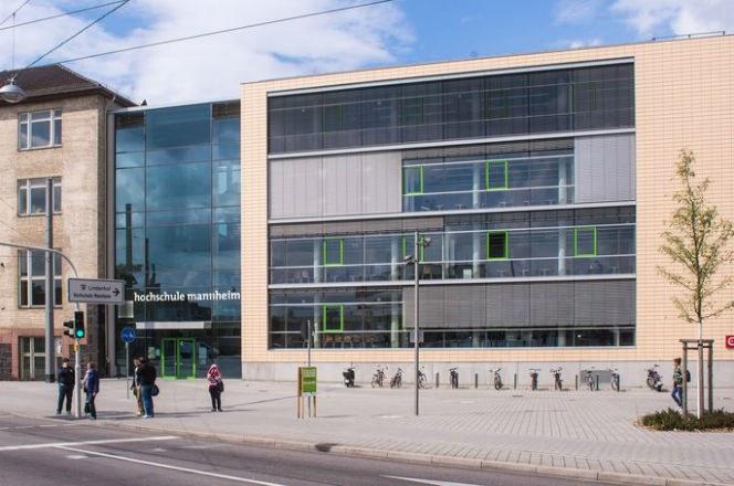 Universidade de Ciências Aplicadas de Mannheim, na Alemanha (Foto: Divulgação)