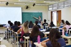 Sala de aula de Câmpus Apucarana | Foto: Decom