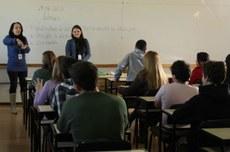 Sala de aula no Câmpus Pato Branco (Foto: Decom)