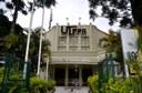 Fachada da Reitoria da UTFPR