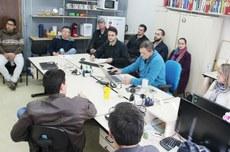 Reunião dos pesquisadores do projeto   Foto: Ascom-PG
