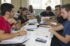 Alunos em sala de aula no Câmpus Guarapuava