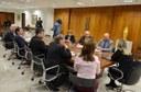 Reitores durante encontro com a governadora Cida Borghetti (Foto: Leonardo Bettinelli/UFPR)