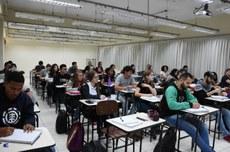 Sala de aula no câmpus Francisco Beltrão | Foto: Decom