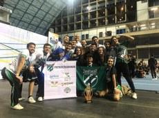 Equipe Asas Negras durante campeonato nacional realizado em Campinas, SP (Foto: Divulgação)