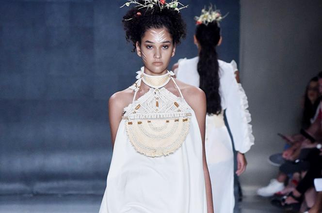 Desfile de moda - Coleção vencedora do prêmio - Roberta Braga