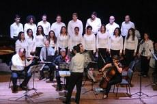 Coral e Orquestra de Francisco Beltrão | Foto: Ascom-FB