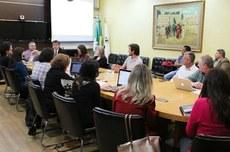 Comissão de planejamento para o ensino a distância da UTFPR realizou sua primeira reunião nesta quinta-feira