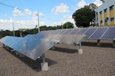 Estação de pesquisa no Câmpus Pato Branco (Foto: Ascom-PB)
