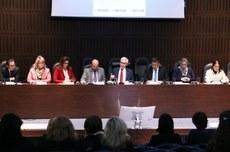 Foto da reunião da UTFPR e UFPR