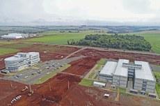 Imagem aérea do Biopark, em Toledo (Foto: Divulgação/Biopark)