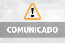 Comunicado de suspensão das aulas em todos os câmpus da UTFPR (Imagem: Decom)