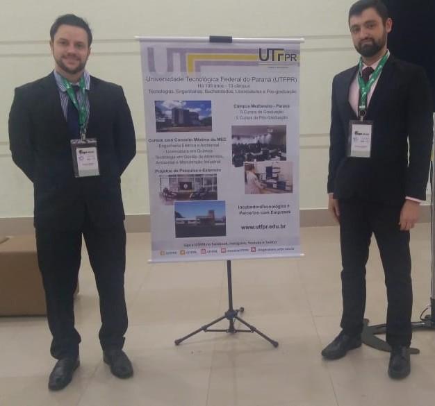 Professor Diogo e acadêmico Mauro