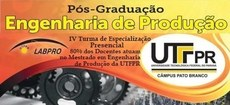 IV Curso de Especialização em Engenharia de Produção